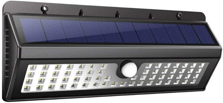 MTK 62Led Wall Garden Light Solar-Induktions-Wandleuchte FüR Den AuEnbereich 650 Lumen 120° Indu Induktionswinkel 6-8M Erfassungsabstand Ip44