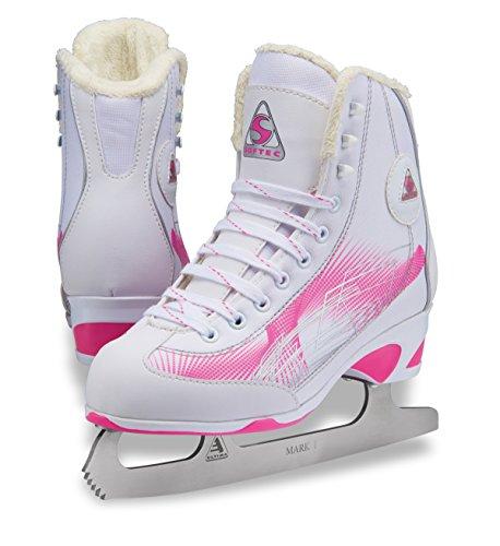 Jackson Ultima Rave RV2000 Women's Figure Skates White/Pink