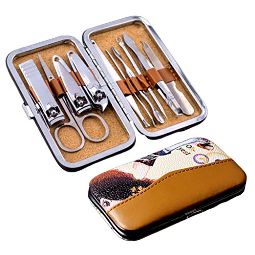NNNQO - Tijeras cortaúñas - Juego de elevadores para uñas Gruesas y encarnadas - Juego de manicura - Kit de pedicura para manicura y cortaúñas