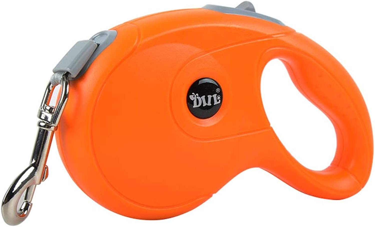 Retractable Dog Leash, One Button Control Traction Rope, Durable 10ft  16ft Dog Walking Leash for Small Medium Large Dogs,Tangle Free (orange)