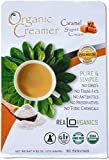 Realorganics 'PURE & SIMPLE' - Powdered, Coffee Creamer / 100% Certified Organic / rBST Free / GMO Free / Gluten Free / Chemical, Additive & Preservative Free… CARAMEL SWEET CREAM