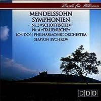 "Symphonies 3 "" Scottish "" & 4 "" Italian """