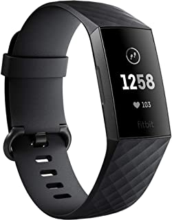 Fitbit Charge 3, Graphite/Black
