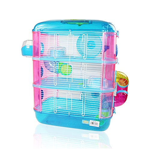mascota home Jaula para Hamster De 3...