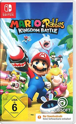 Mario & Rabbids Kingdom Battle - [Nintendo Switch]   Code in der Box