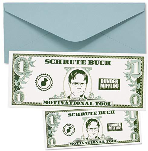 Schrute Buck Geburtstagskarte mit Aufkleber, The Office TV Show (5)