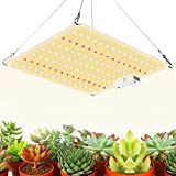 600W Led Grow Light with Samsung Diode UV IR Included, 2x2ft Coverage Sunlike Led Grow Lights for Indoor Plants Full Spectrum, Greenhouse Hydroponic Indoor Seeding Veg and Bloom