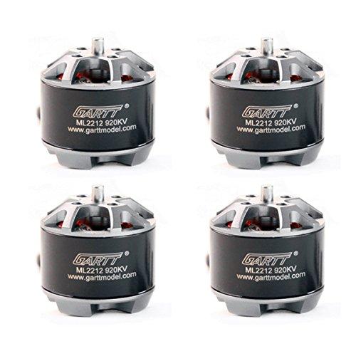 GARTT 4pcs ML 2212 920KV Brushless Motor 2-4S for DJI Phantom, F330, F450, F500, S550, X525, walkera QR X350 Premium, RC Quadcopter Hexacopter Multicopter