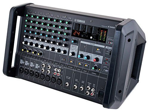Yamaha EMX5 12-input Stereo Powered Mixer w  DSP Effects , Black