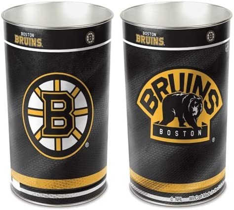 Hall of Fame Memorabilia Boston Bruins Basket 15'' Waste Luxury goods Indefinitely