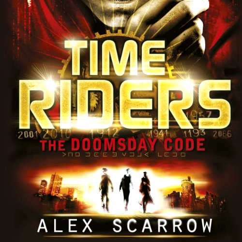 The Doomsday Code audiobook cover art
