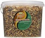 Supa - Cóctel de camarón Natural, Cubo de 3 litros, Alimentos Ricos en proteínas Altamente nutritivas, Apto para Acuario y Peces Estanque