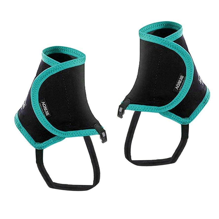 後ろ、背後、背面(部証言ジャグリングIPOTCH 防水 ナイロン レッグガイター ブーツガイター スキー ハイキング用 全3色