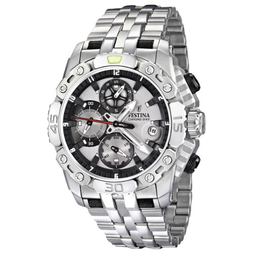 Festina Herren-Armbanduhr XL Dream Time Analog Edelstahl F16542/1