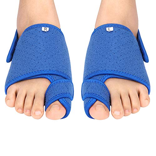 Bunion Corrector, Orthopedic Bunion Toe Brace Splint with Detachable Gel Arch Support and Anti-Slip Strap Big Toe Straighteners for Hallux Valgus, Overlapping Toe, Flat Foot and Bunion Pain Relief