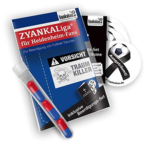 Heidenheim Home Trikot ist jetzt ZYANKALIGA für FCH Fans by Ligakakao.de Puma Herren Home Shirt Replica mit Logo blau-weiß