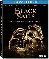 Black Sails Season 4 on Blu-ray, DVD, and Digital HD from Lionsgate