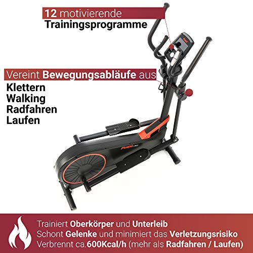 Fuel Fitness CT500 Crosstrainer Trainingscomputer
