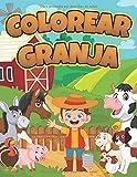 Colorear Granja: Libro Infantil para Pintar   Granjero, Animales Granja, Caballo, Pollo, Cerdo, Oveja, Vaca, Cabra y más