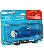 Playmobil Accesorios - Submarino Motor por Barco Vehículos de juguete, Color Azul (Playmobil 5159)