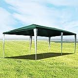 Hengda Cenador de jardín 3 x 6 m con protección UV para Fiestas, Carpa para Bodas y Fiestas al Aire Libre, jardín, Acampada, Verde