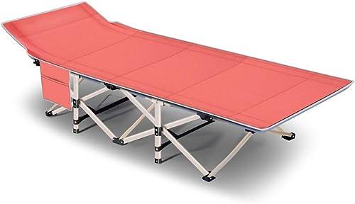 Lit de Camping Pliant GL, avec Matelas Ultra Confortable, pour Adultes et Enfants jusqu'à 300 kg, pour Le Camping à Domicile