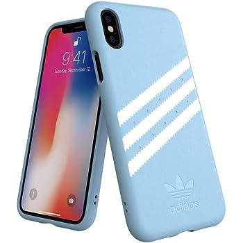 Adidas Originals Coque Moulded pour iPhone XS Max Bleu