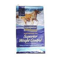 フィッシュ4ドッグ スーペリア ウェイトコントロール(成犬)3kg(1.5kg×2袋)+WANBANAオリジナルクッキー付き