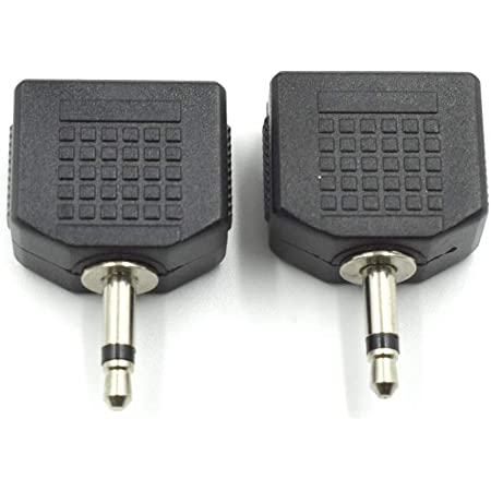 2 x Hicon Mini-Klinkenstecker 3,5 mm mono Mini Klnkenstecker mono 3,5 mm Jack