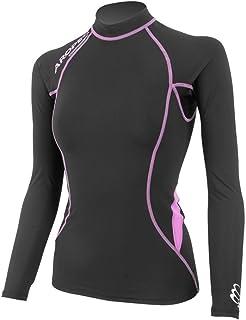 女式 Aropec 压缩长袖上衣 铁人三项运动 XS - XL