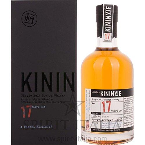 Kininvie 17 Years Old 1996 Batch No. 1 GB 42,60 % 0.35 l.