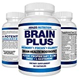 Premium Brain Function Supplement – Memory, Focus, Clarity – Nootropic...