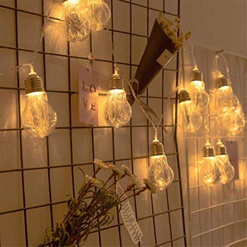MTX Ltd Veilleuses, Ampoules Décoratives Créatives, Accessoires, Filets, Équipement Rouge, Lumières LED, Balles Rondes, Lumières de Noël, Veilleuses