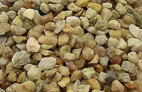 Müller GmbH 25 kg Aquariumsand Aquariumkies Natur beige gerundet und feuergetrocknet 19 Körnungen (2,0-4,0mm)