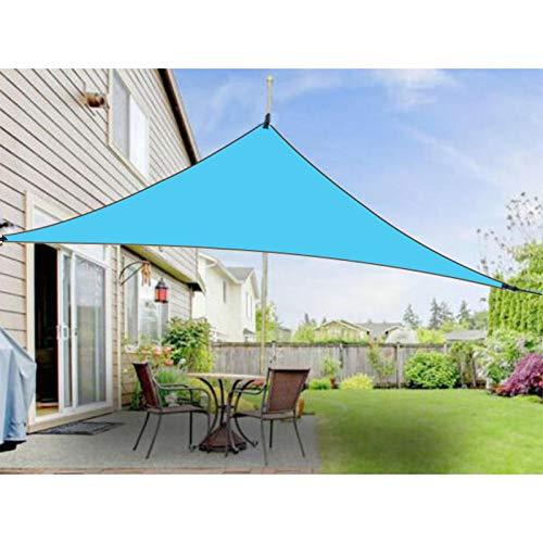ECOSWAY Dreieck Markise UV Schutz Überdachung Outdoor Schatten Dreieck regendicht sonnenfest Markise