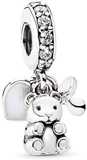 Best silver teddy bear pandora charm Reviews