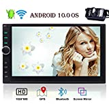 EINCAR Android 10.0 Q Double Din Car Stereo Capacitive Touchscreen GPS Navigation Radio