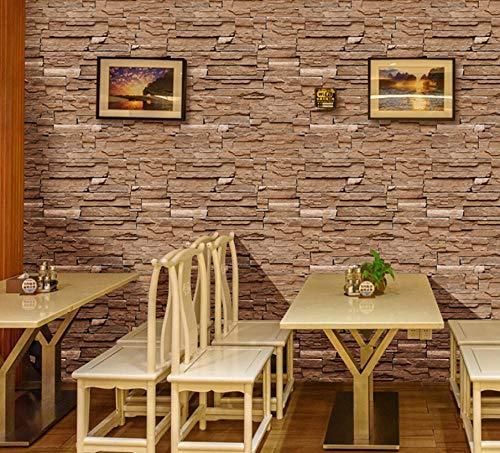 Papel pintado autoadhesivo marrón amarillento papel de contacto DIY impermeable autoadhesivo decorativo papel pintado cocina encimera gabinetes cajón muebles pared 45X300cm