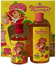 Marmol & Son Strawberry Shortcake Perfume for Children, 3.4 Ounce and Body Wash 8.0 Ounze Gift Set