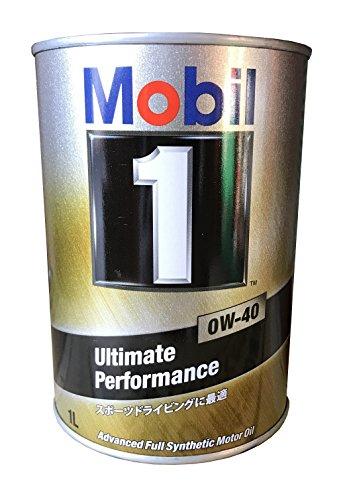 Mobil エンジンオイル モービル1 0W-40 SN 1L 117492