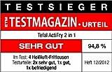 Tefal ActiFry YV960130 2in1 Heißluft-Fritteuse (1,5 kg Fassungsvermögen, 1.400 Watt, inkl. Rezeptbuch) - 5