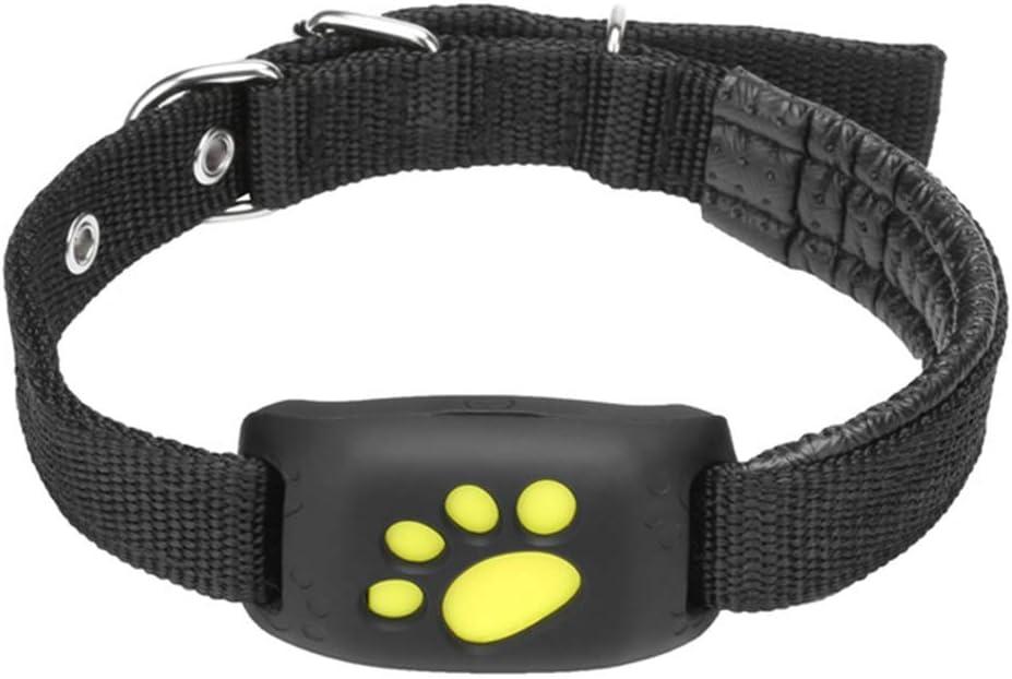 XUANWEI Rastreador GPS para Mascotas Collar para Perros y Gatos Función de devolución de Llamada GPS Impermeable Rastreador GPS de Carga USB, Utilizado universalmente para Gatos y Perros