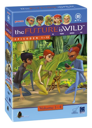 The Future is wild - 4 DVDs im Schuber ( 13 Episoden )