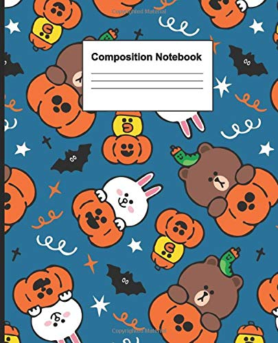 Composition Notebook: Wide Ruled Lined Paper Notebook Deluxe, 120 pages, 7.5