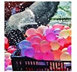 HAOTTP Llenando Globos mágicos en 60 Segundos 666 Piezas Relleno rápido Autosellado Niños Adulto Juego de Guerra de Agua Suministros Globo de Agua Verano Juguetes de Fiesta al Aire Libre