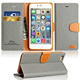 Coque iPhone SE / 5S Housse, IPHOX PU Etui en Cuir Portefeuille de Protection,...