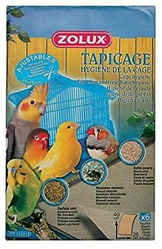 Zolux Tapicage Hygiène de la Cage pour Oiseau Taille M