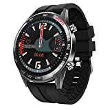 BingoFit Smart Watch for Men,Full Touch Screen Activity Tracker Heart Rate Monitor Blood Pressure Fitness Smartwatch,Waterproof Men Sport Watch with Stopwatch Step Counter Sleep Tracker Android iOS