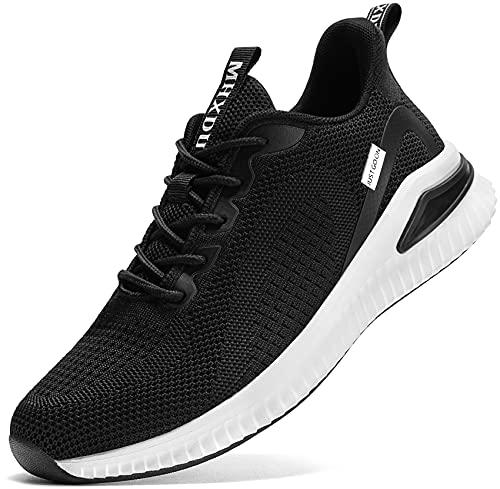 Zapatos Negros Mujer  marca MHXDU