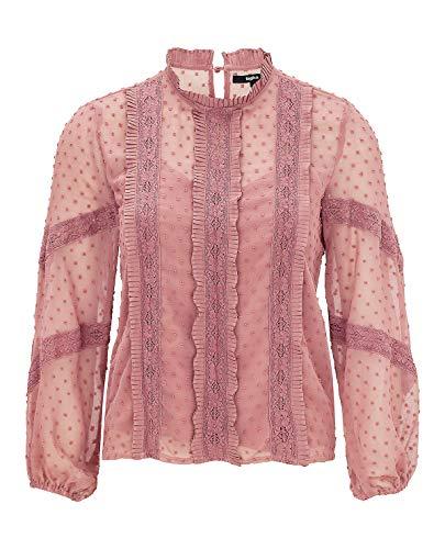 Tigha Sohana Damen Bluse, Größe:S, Farbe:Rosa